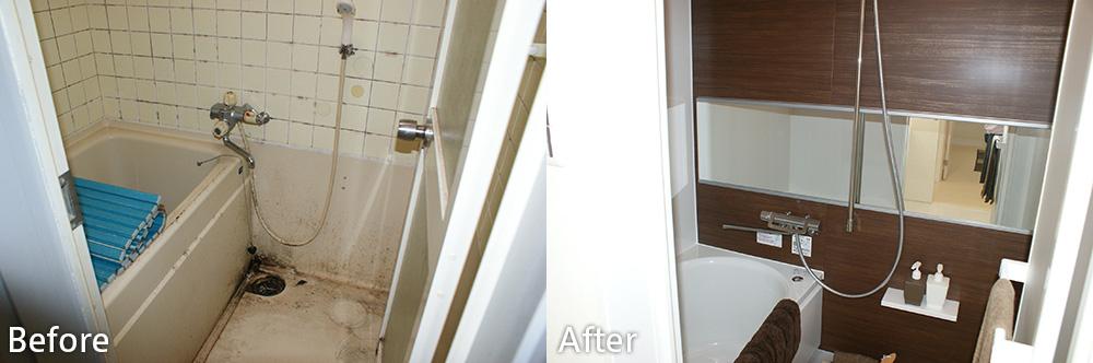 浴室のリノベーション